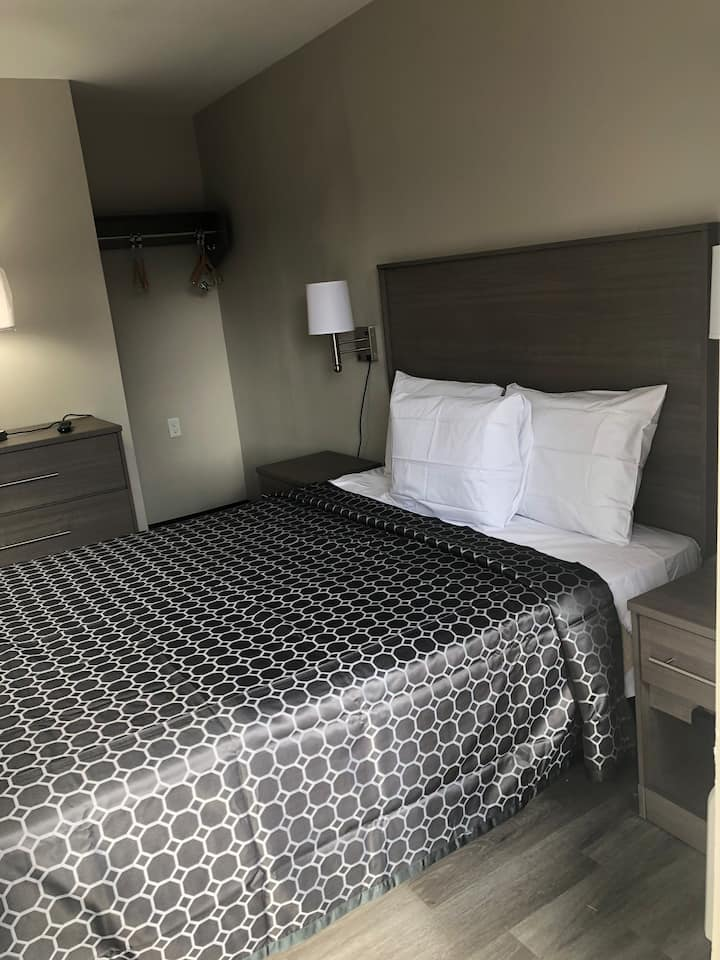 Newly renovated rooms- Trolley Stop Motel in Media
