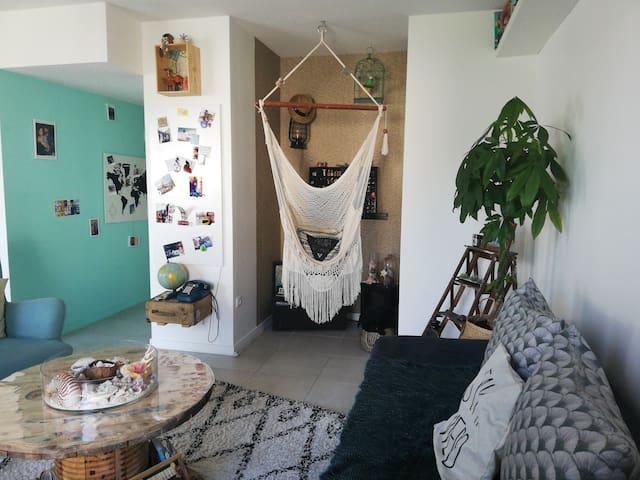 Appartement quartier grand Basque, 1 à 4 personnes