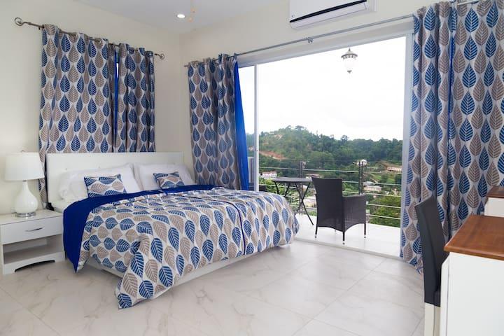Hololo Haven: Turure Room- AC, TV, wifi, balcony