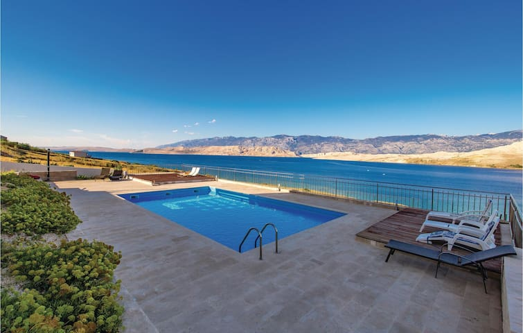 Holiday apartment with 1 bedroom on 53m² in Pag