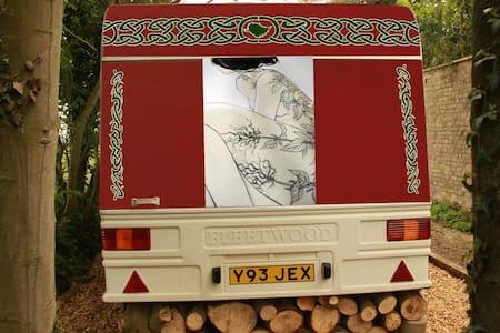 The Heavy Nettle Caravan - North Yorkshire