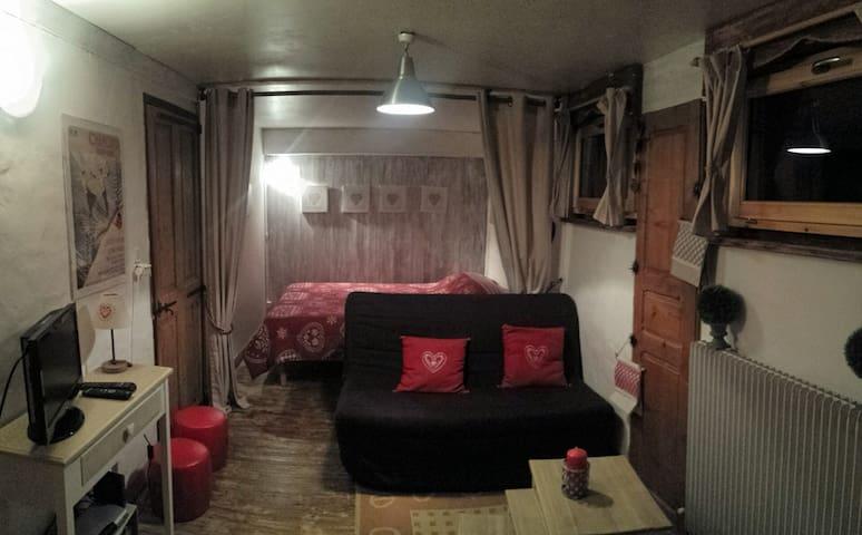 bel appartement au style savoyard