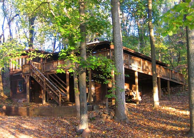 Hot Tub Heaven #4 - Vacation Cabin for Rent in Front Royal, Virginia