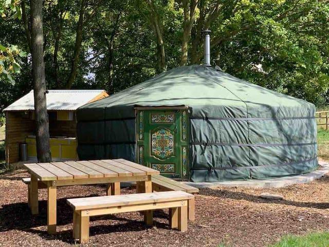 Stonehenge Yurts @ Scotland Lodge Farm