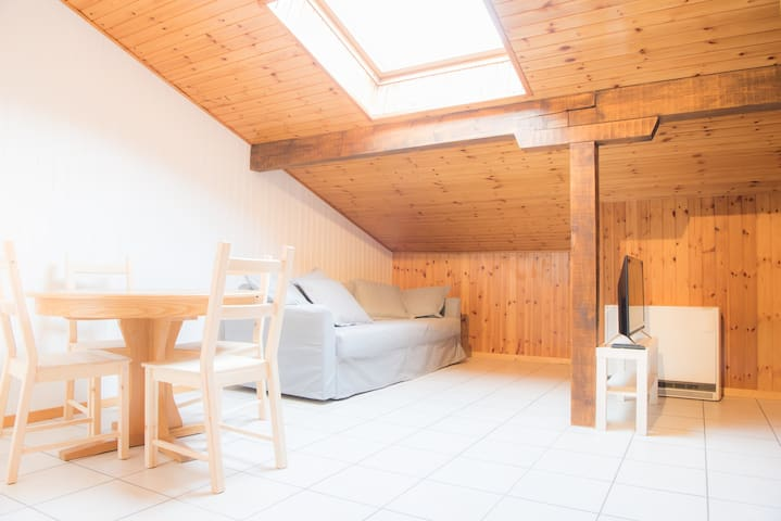 Sky & hiking studio apartment / 2 - Fiesch - Condomínio