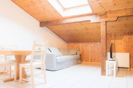 Sky & hiking studio apartment / 2 - Fiesch - Osakehuoneisto