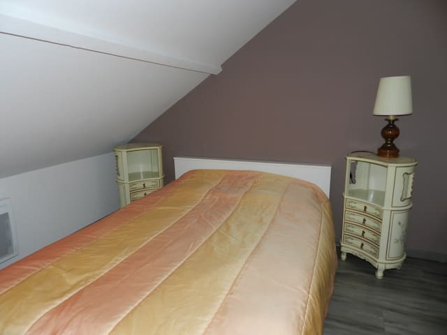 Chambre lit double - Changis-sur-Marne - Bed & Breakfast