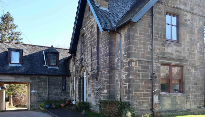 Perfect Scottish Retreat close to city & airport