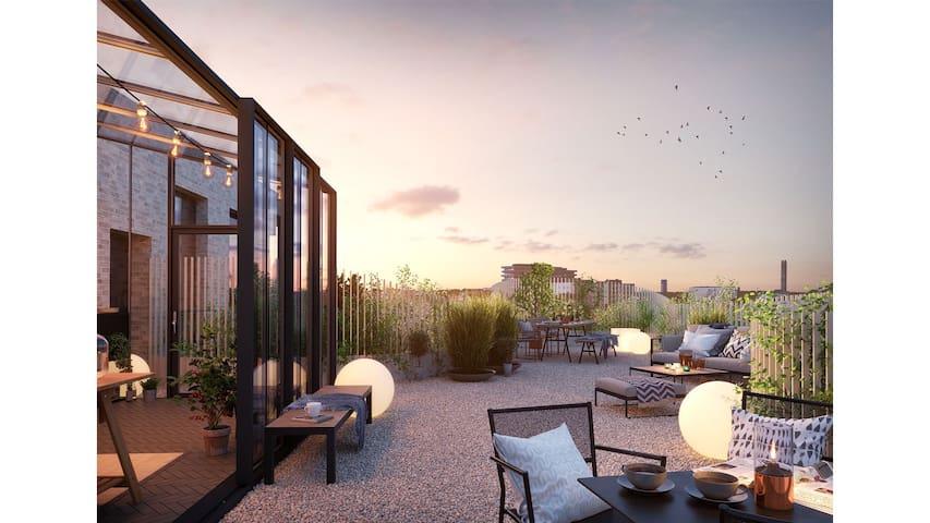 Lyxig lägenhet, Populära Sundbyberg - Sundbyberg - Apartment