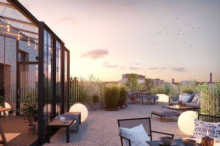 Lyxig lägenhet, Populära Sundbyberg - Sundbyberg - 公寓