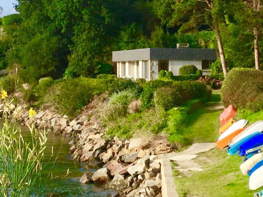 Villa idéalement située : calme et proximité tous commerces/activités