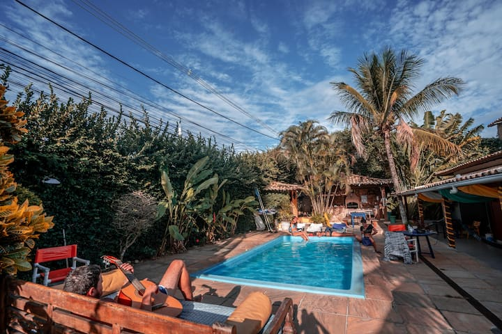 Private Room only 500 meters from the Beach