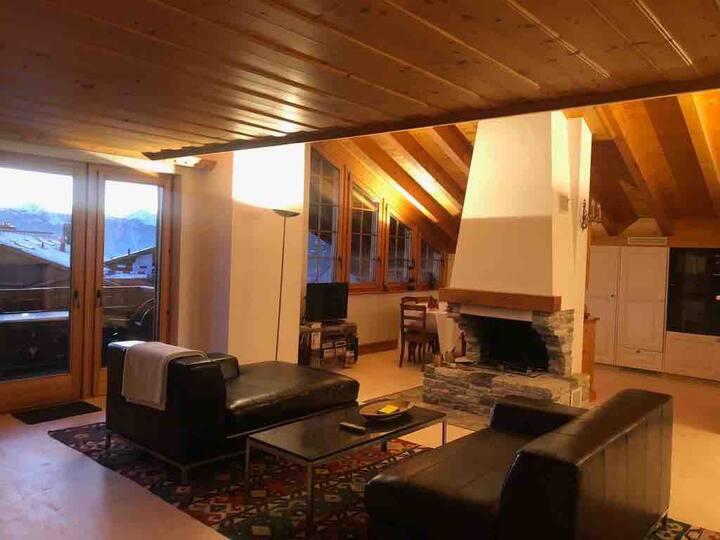 Appartement 7 lits, 3 bains, Villars, Swiss Alps