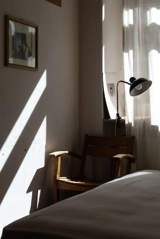 Beautiful sunlight as the room orientation is straight south