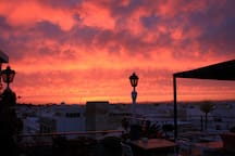 Rooftop sunsets