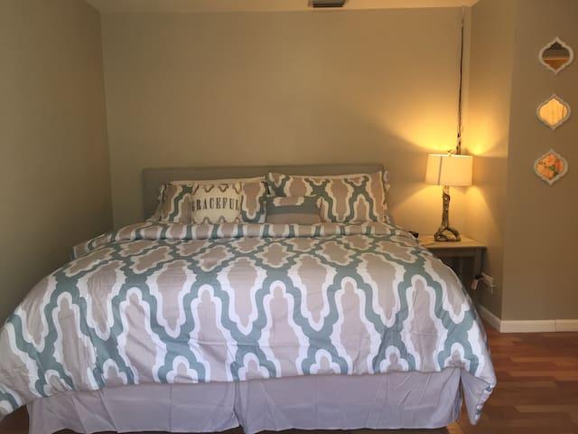 Private entrance; Cozy 1 Bedroom Studio - West Palm Beach - Dom