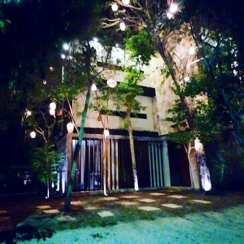 CHEMUYIL tulum LA casa De María Pájaro toh
