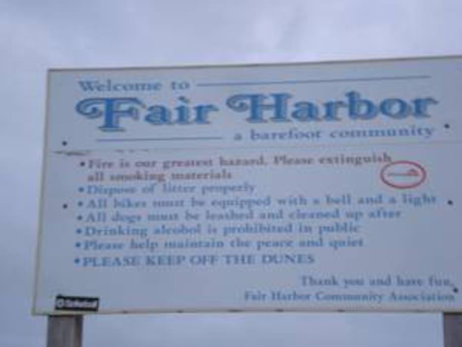 a little about fair harbor