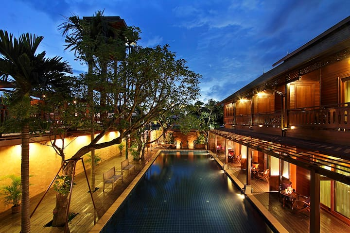 Boutique House with Pool View - Chiang Mai