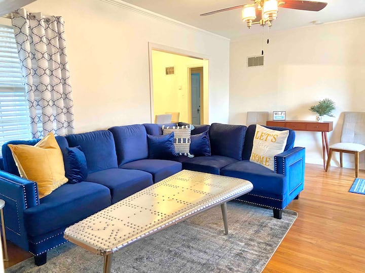 *Perfect walkable location with NEW KING SIZE BED!