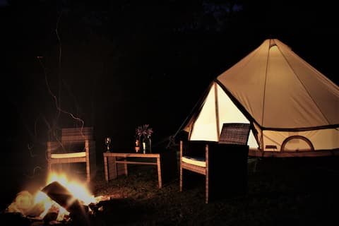 Romantic Glamping for two