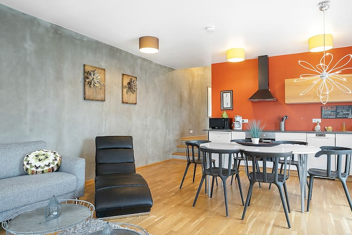 703 Best location in Reykjavik center with balcony