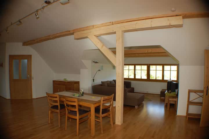 "Holiday apartment ""Nussbaumblick"""