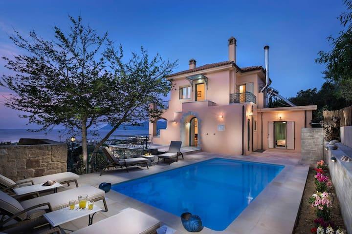 Seaview luxury private villa in Kissamos - Kissamos - Villa