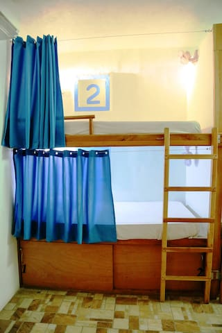 Cuarto compartido blue