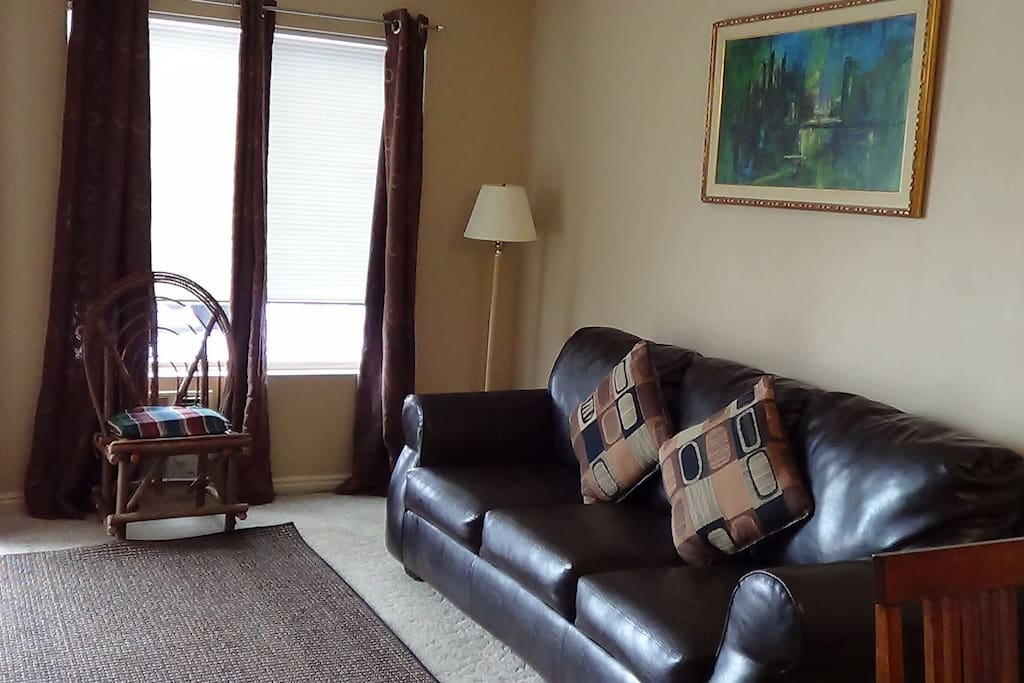 Family room from dining room