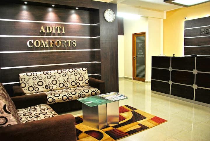 Aditi Comforts Premium Serviced Apartments