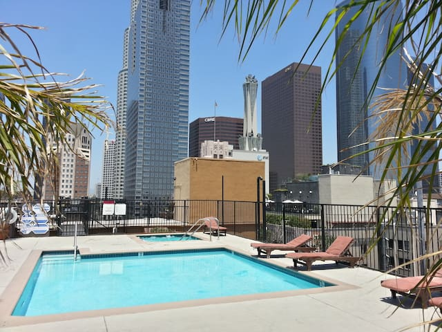 Best Loft in DTLA!  Location, Views, Rooftop Pool!
