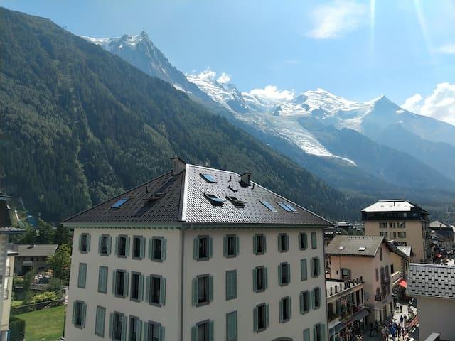 Studio refuge au cœur de Chamonix Mont-Blanc