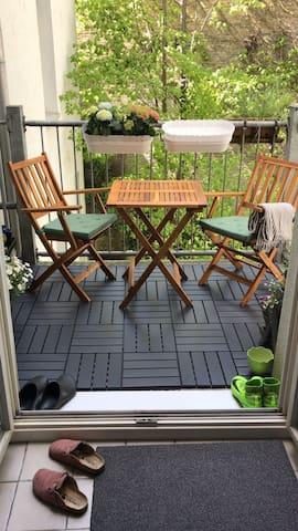 Gemütliche Altbauwohnung im Flensburger Burghof