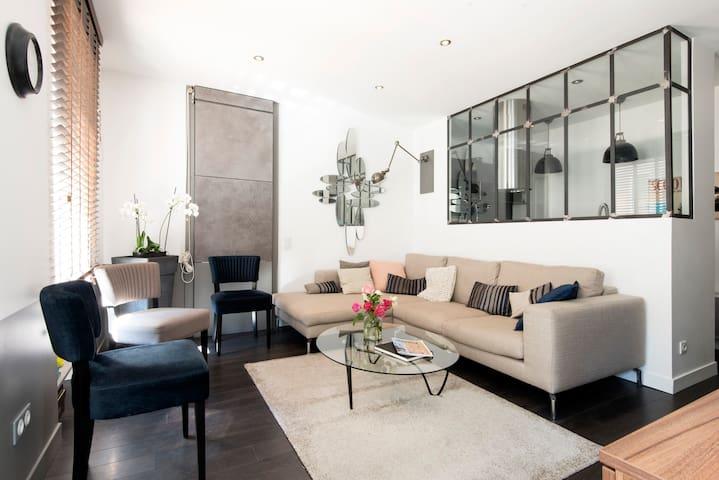 Appartement de charme avec terrasse - La Rochelle - Flat