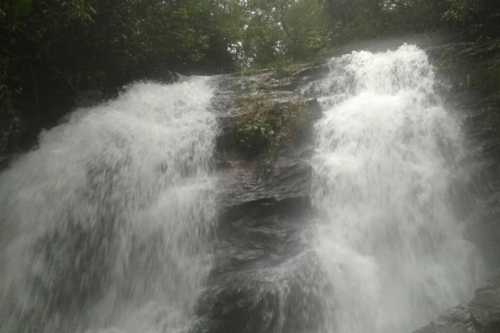 The private waterfall