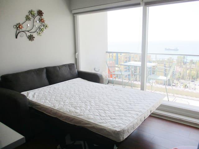Sofá cama similar 2 plazas