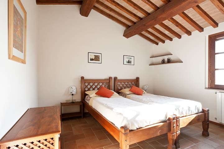 Holiday apartment in Tuscany Villa near the coast - Riparbella - Apartment