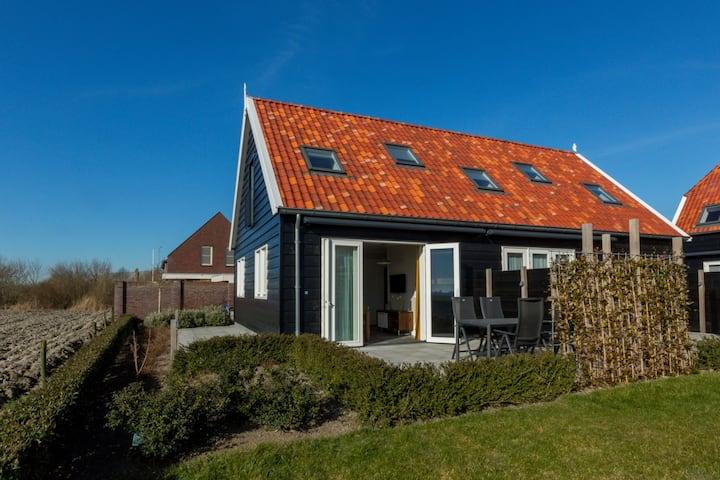 Luxueuse maison de vacances à Oostkapelle avec jardin