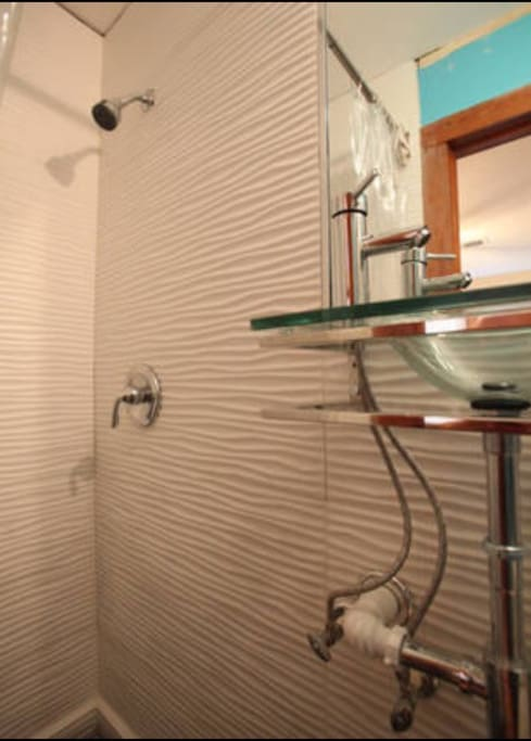 Get fresh and Clean in your own  in room private entrance bathroom