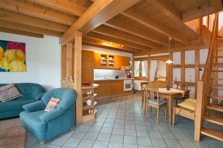 Heinemanns Hof, (Lennestadt), Hühnerbalken, 90 qm, 2 Schlafzimmer, max. 5 Personen
