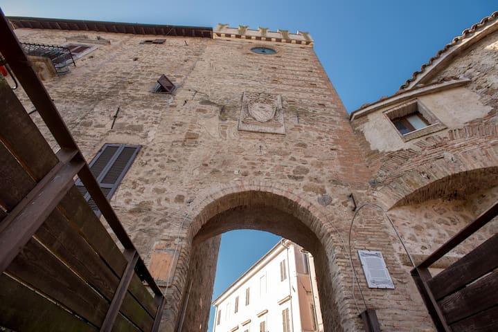 entrata castello orsini
