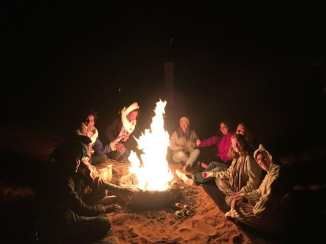 Camp Under Stars