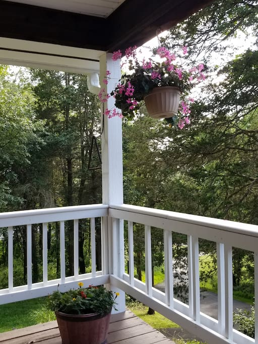 Quiet country home, bright and clean. Lots of great hiking and restaurants nearby.