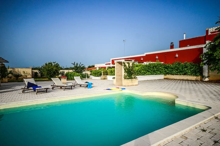 Maiorana - apartment in Apulian masseria with pool - Polignano a mare - Daire