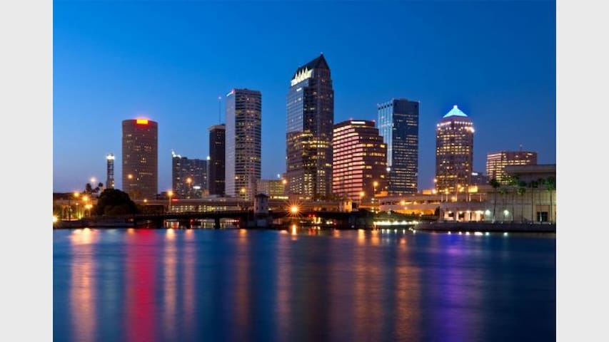 Stay in the HEART of Tampa's trendy Downtown Area!