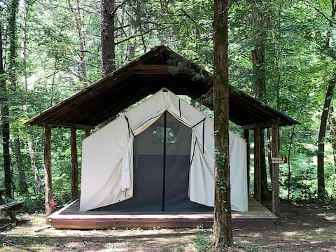 Dreamy  Glamping Tent Near Conley Bottom