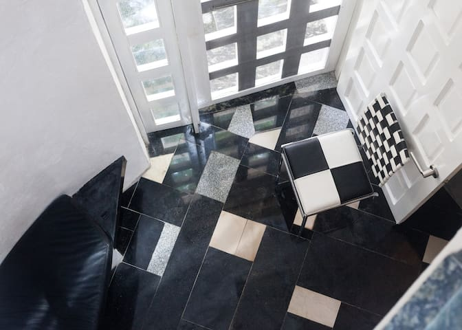 Combination of marble
