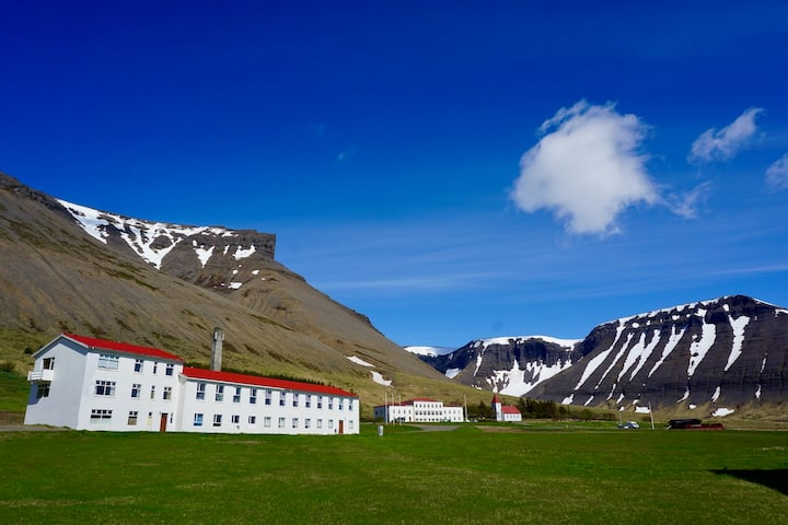 Comfy Triple Room at Magical Westfjords