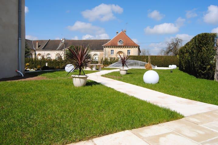 Domaine des Papillons.Cidarie - Beaujeu-Saint-Vallier-Pierrejux-et-Quitteur - Casa